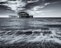 Brighton Pier B&W